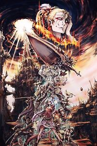 details zu rgc huge poster final fantasy vi characters snes gba ps1 ps2 psp fvi011