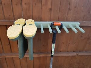 details about wooden wall mounted welly wellington boot rack wellie stand painted