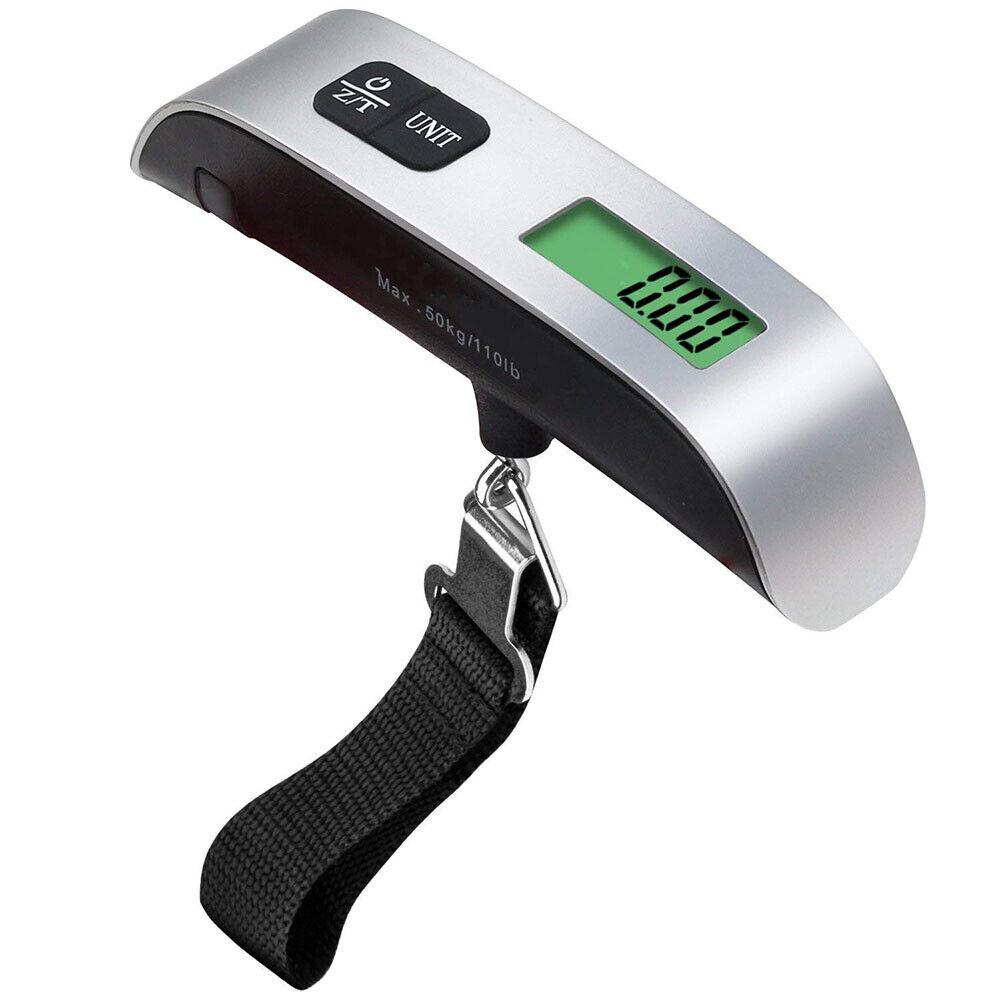 Digital 50KG Travel Portable Handheld Weighing Luggage Scales Suitcase Bag #UR6