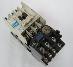 Mitsubishi S N10 Magnetic Contactor With Overload Relay Th
