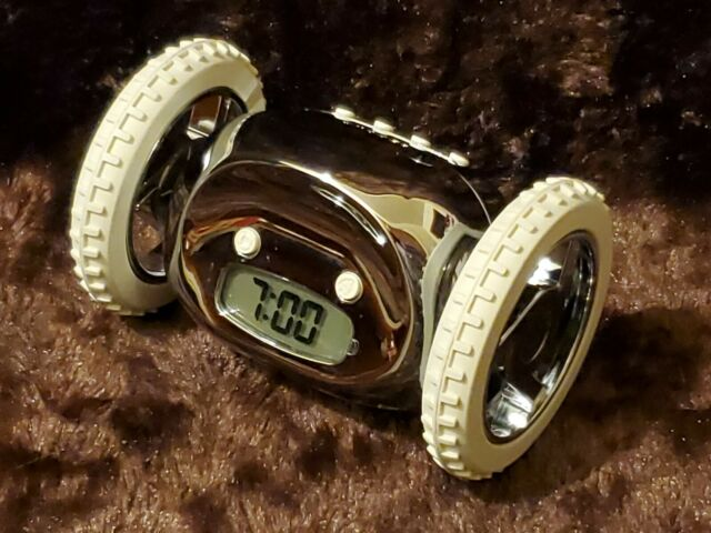 Clocky Runaway Alarm Clock On Wheels