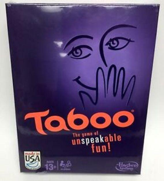 Risultati immagini per taboo game