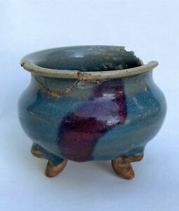 ASIAN ANTIQUE CHINESE CHINA INCENSE BURNER CENSER FRAGMENT SONG MING DYNASTY