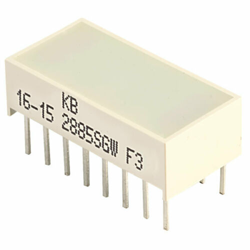 kingbright kb 2885sgw green light bar electronic components semiconductors electrical equipment supplies