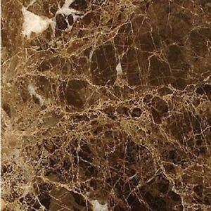 details zu dark emperador brown marble wall floor tiles