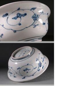 Large Arita Bowl Beautifull Japanese Porcelain Plate Early 18th c Edo Pe...