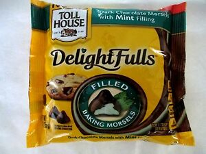 Nestle Toll House Delightfulls Dark Chocolate Morsels Mint