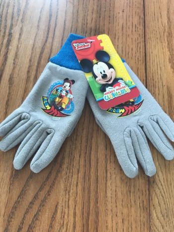 Mickey Mouse Jersey Gloves