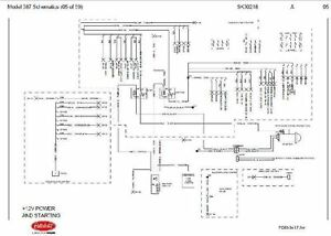 Before Oct 15, 2001 Peterbilt 387 Complete Wiring Diagram Schematic | eBay