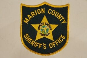 US Marion County Sheriffs Office Deputy SHeriff Florida ...