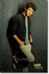 details about disney camp rock the final jam nick jonas nate poster 22x34 new free shipping