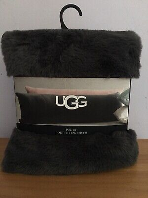 ugg polar body pillow cover case super soft long warm bed dorm maternity kid new