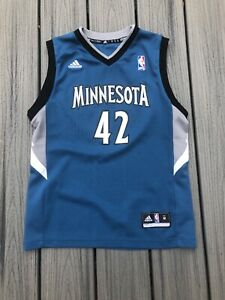 Adidas Boy's Sz M NBA Minnesota Timberwolves #42 Kevin ...