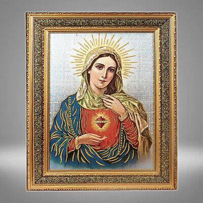 sacred heart of mary cuadro 17x21 sagrado corazon de maria picture frame