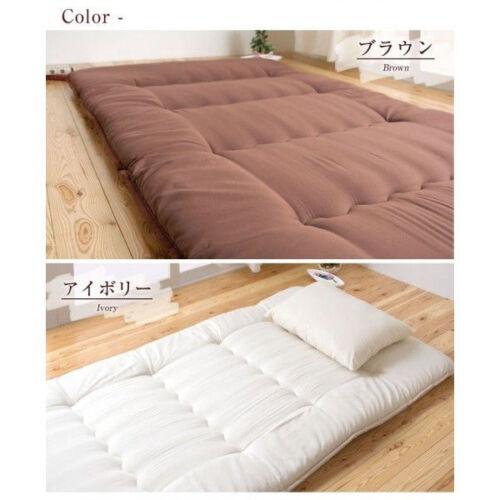 traditionnelle japonaise matelas futon teijin 6 fois twin taille made in japan f s