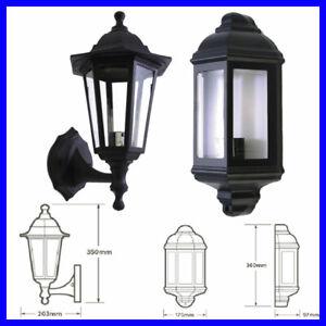 Découvrez tous les produits design et deco de la catégorie mezza lanterna da parete : E27 Ip44 Esterno Vintage Tradizionale Completo Mezza Led Lanterna Portico Parete Ebay