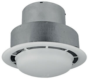 details about ventline 90 cfm bathroom ceiling exhaust fan with light for mobile home rv