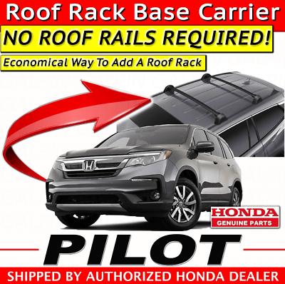 genuine oem honda pilot roof rack base carrier 2019 2020 ebay