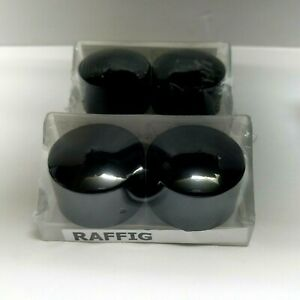 details about ikea raffig finials black end caps for curtain rod caps set 4 model 202 199 36