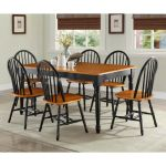 Dining Room Table Set Farmhouse Country Wood Kitchen Tables And Chairs 7 Piece For Sale Online