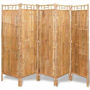 Pannelli divisorio/barriera frangi vista 1m x 1m. Vidaxl 5 Pannelli Divisori Per Recinzione Divisore Paravento In Bambu 200x160 Cm Ebay