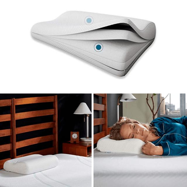 tempur pedic tempur ergo medium size neck pillow