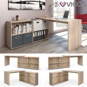 details sur bureau en angle vicco flexplus table de bureau pour ordinateur bureau pour pc