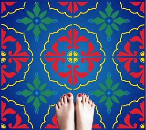details about mexican tile stencil tile reusable talavera moroccan italian painting template