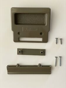 details about andersen insect screen patio door hardware kit in stone part 2650504
