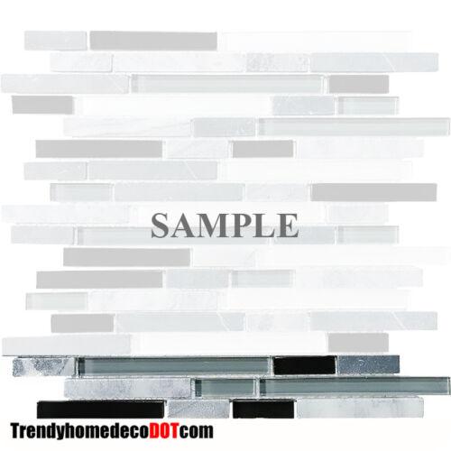building hardware sample gray black glass marble mosaic tile backsplash kitchen backsplash faucet flooring tiles