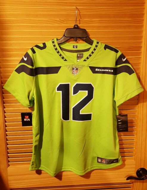hot sale online dcc7c 5bb42 Seattle Seahawks Color Rush Jersey | mountainstyle.co