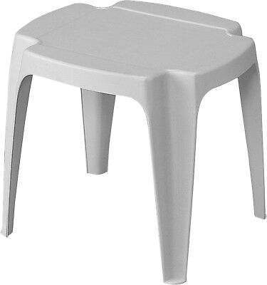 useful plastic garden side table patio terrace balcony table footstool 3 colours ebay