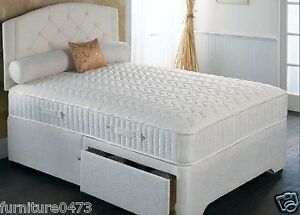 Image Is Loading 11 034 Thick Memory Foam Pocket Sprung Mattress