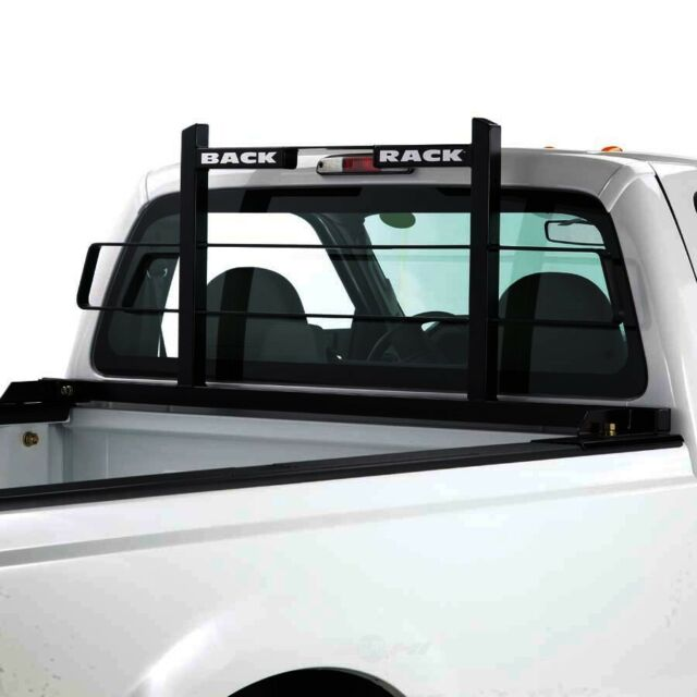 truck cab protector headache rack frame only hw kit required backrack 15010