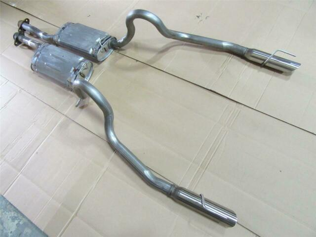 oem 1999 2004 ford mustang gt 4 6l 5 0l v8 exhaust muffler system lh rh