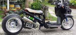 details about honda ruckus stretched edz racing exhaust for get 49cc nps50 jst4shwruckscom