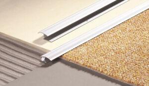 details about 100cm carpet to tile wood laminate metal z door bar trim threshold gold silver