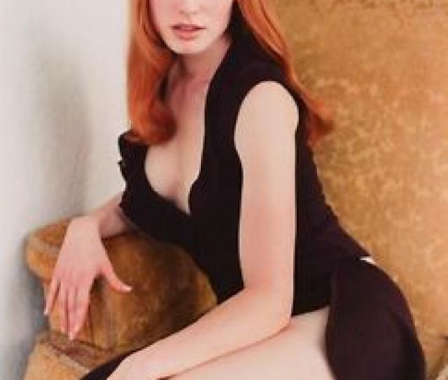 Image Is Loading Alicia Witt Gorgeous Redhead Leggy  X Photo