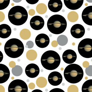 Planet Saturn with Rings Solar System Premium Gift Wrap ...