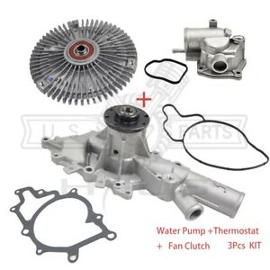 Water Pump Thermostat Fan Clutch Kit for Dodge