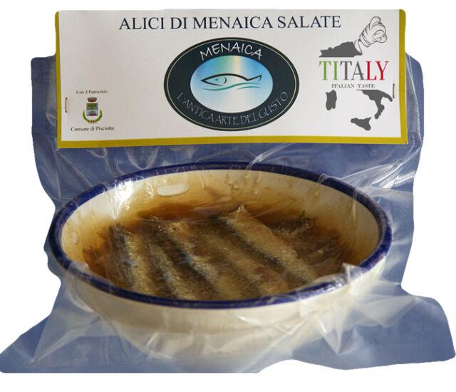 ALICI DI MENAICA SOTTO SALE 250gr Laboratorio artigianale Menaica