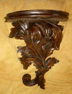 Hobby Lobby Wall Shelf Sconce 3 D Leaf Design Ornate 14 ... on Wall Sconces Hobby Lobby id=62171