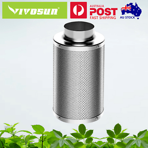 details about vivosun 4 6 8 carbon filter odor control for exhaust fan grow tent hydroponic