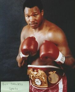 LARRY HOLMES Heavyweight Champion Easton Assassin ORIGINAL ...