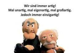 Blechschild 20x30 cm Muppets Waldorf & Statler Noch 2x Sex dann ist  Weihnachten | eBay