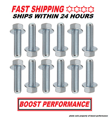 ls exhaust manifold flange bolts ls1 ls3 ls2 lsx lq4 ls9 quick free shipping