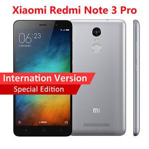 Xiaomi Redmi Note 3 Pro Snapdragon 650 Hexa Core 4G LTE SmartPhone Fingerprint