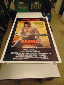 RAMBO FIRST BLOOD PART 2 1985 SYLVESTER STALLONE MOVIE ...