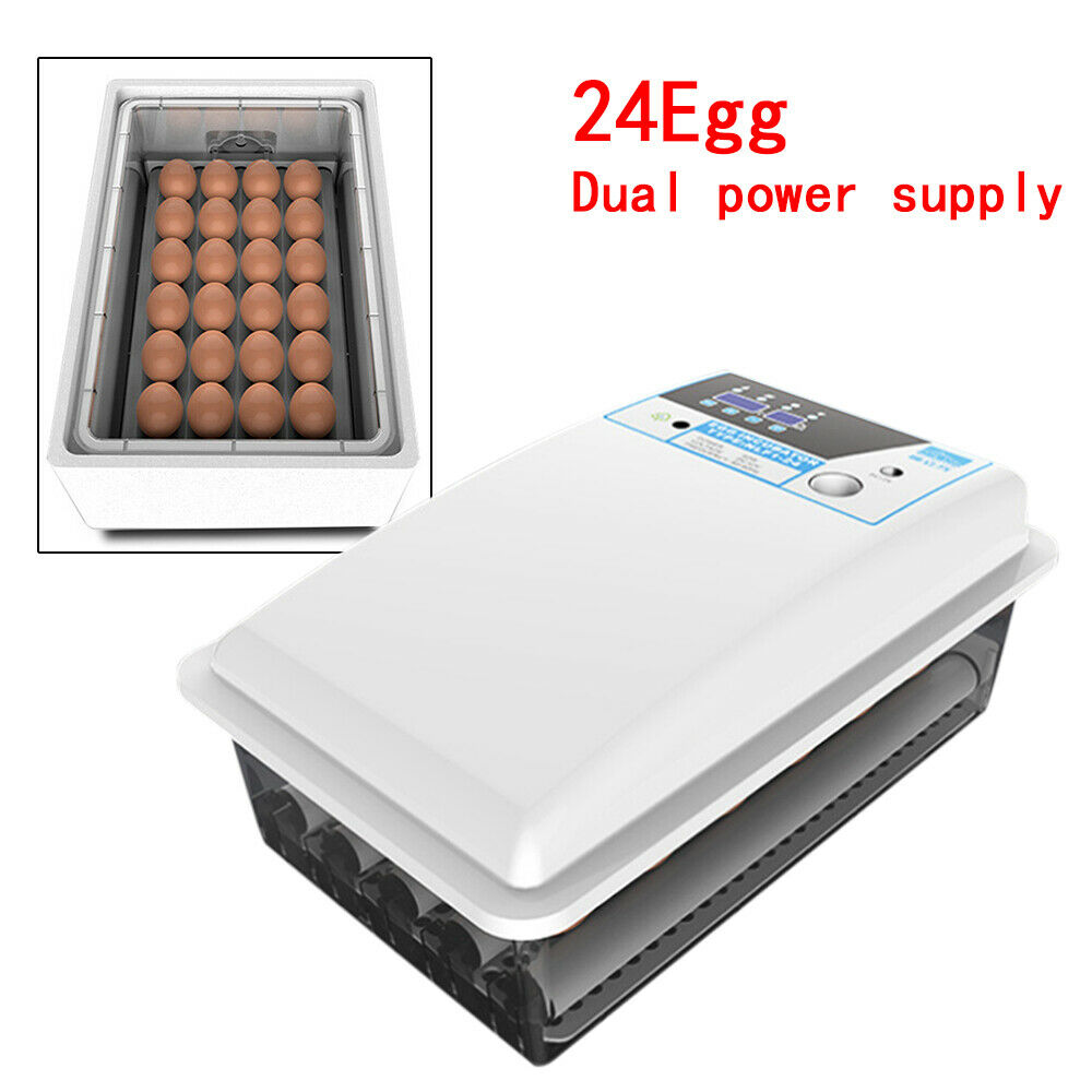 Automatic Digital Egg Incubator Poultry Bird Duck Hatcher Temperature Control US