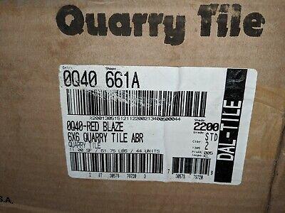 daltile abrasive quarry tile red blaze q40 matching suretread cove base q81 ebay